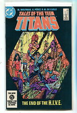 Tales Of The Teen Titans #47 Nm The End of The H.I.V.E. Dc Comics Cbx1N