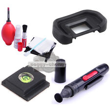 22mm Eyecup+Clean Pen+hot shoe cover+7in1 Lens Cleaning kit fr Canon EOS 60D 70D