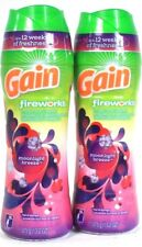 2 Gain Fireworks 13.2 Oz Moonlight Breeze In Wash Scent Booster 12 Wks Freshness