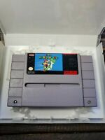 Super Mario World (Super Nintendo, SNES 1991) AUTHENTIC Case
