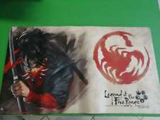 Legend of the Five Rings Scorpion Playmat - Never used