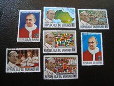 Burundi - Francobollo Yvert/Tellier N°331 a 336 Oblitere (A43)