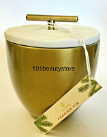 THYMES Frasier Fir EBI Exclusive Gold Metal with Lid Poured Candle *NEW.NO BOX*