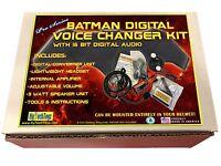 BATMAN DIGITAL VOICE CHANGER HELMET SYSTEM COSTUME COSPLAY PRO SERIES NEW!!