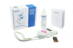Baby Fetal Doppler Heart Monitor 3Mhz Backlit LCD Display (includes gel)
