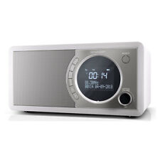 Sharp DR-450(WH) 6W DAB+ FM Bed Side Radio with Bluetooth & LED Display - White