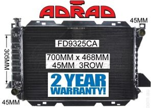 FORD F100 F150 F250 F350 BRONCO 1981-1993 V8 COPPER & BRASS RADIATOR *ADRAD*