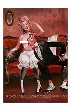 Pin Up Girl Poster 11x17 Comic Art Victorian Doctor Burlesque