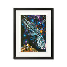 Star Wars Episode IV A new Hope x Noriyoshi Ohrai Japanese Sci-Fi Poster Print