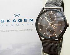 Mens SKAGEN Slim Watch Day & Date , Mesh strap Boxed RRP£189 (SK46