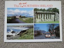 Vintage 1993 'The Real Northern Ireland' Real Photo Postcard
