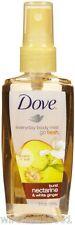 Dove Go Fresh Burst Body Mist Nectarine & White Ginger Scent 3 oz 89 ml