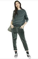 Hatch Maternity Women's THE BOYFRIEND CORD Pants Green/Pine Size 0 (XS/0-2) NEW