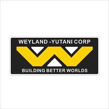 Weyland Yutani Corp Cool Vinyl Danger Car Motorcyclr Smooth Surface Decal Stick