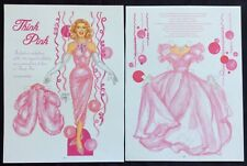 Think Pink Paper Doll, Mag. by David Wolfe, 2011