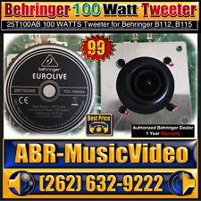 Behringer EUROLIVE 100 Watt Tweeter for B112D, B115D Speaker 25T100AB
