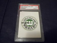1972-73 OPC O-Pee-Chee WHA Logo New England Whalers - PSA 9 MINT 1 graded higher