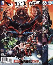 JUSTICE LEAGUE #50,51,52 DC Comics UNIVERSE REBIRTH Batman Superman Wonder Woman