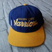 Vintage 90s Golden State Warriors Hat Cap by Sports Specialties Fitted