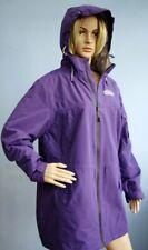 Snowdonia Purple All Weather Showerproof Jacket Coat with Hood Size 18