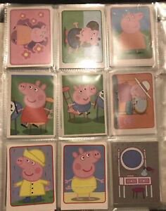 PANINI PEPPA PIG'S WORLD Part Set Of 150x New Loose Un-Stuck Album Stickers NEW