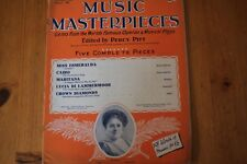 Musical Masterpieces 36: Percy Pitt 5 Complete Pieces: World's Operas/Plays