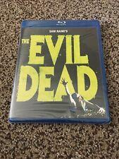 The Evil Dead (Blu-ray Disc, 2010) Sam Raimi, Horror, 1981 Brand New