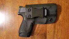 Kydex Handmade Right Handed Concealment Holster S&W Shield 9/40 IWB Black