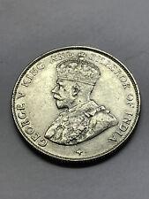 1920 Straits Settlements 50 Cents Unc++ #10907