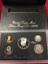 1992 United States US Mint Silver Proof Set SKU1453
