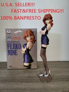 Banpresto Lupin The Third Fujiko Mine Figure Part 5 Master Stars Piece IV