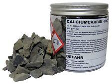 500 g Karbid 7-15 mm Calciumcarbid für Acetylen Gas Entwickler Schweißen u.a.