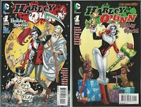 DC COMICS HARLEY QUINN #1 HOLIDAY SPECIAL 1ST PRINT & VARIANT COVER SET IN STOCK