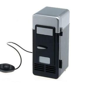 Portable USB Powered Mini Fridge Cooler and Warmer Can Refrigerator for Drink b