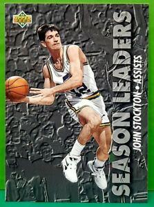 John Stockton subset card 1993-94 Upper Deck #168