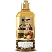 WOW Moroccan Hair Oil Treatment Hydrating Shampoo - Hair Loss DHT Blocker -16 oz