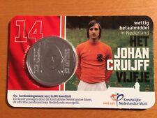 BU Coincard Nederland van 5 euro  Johan Cruijff uit 2017