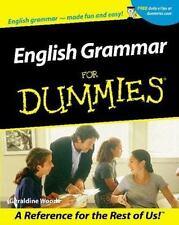 English Grammar for Dummies by Geraldine Woods (2001, Paperback)