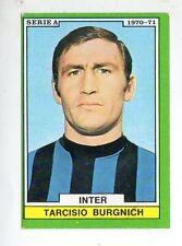 FIGURINA    CALCIATORI    EDIS    1970-71     INTER   BURGNICH