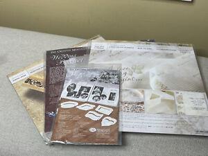 Creative Memories Wedding Scrapbook Paper Sticker Huge Lot Brand New NIP