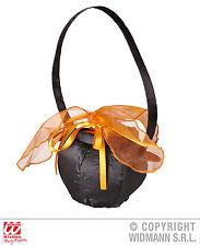 hexentasche, Caldero de la bruja negro naranja, CARNAVAL HALLOWEEN