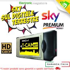 CAM per SKY HD CI Modulo Smart TCAM WiFi Digitale Terrestre MEDIASET PREMIUM