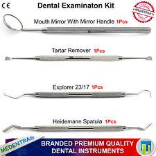 Esame dei denti Kit di base Explorer HEIDEMANN spatola raschietto per tartaro veterinaria