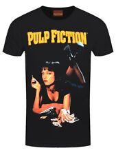 Pulp Fiction T-shirt Classic Poster Men's Black
