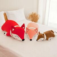 35/50/60cm Large Big Plush Stuffed Fox Little Animals Gift Pillow Doll Toys Soft