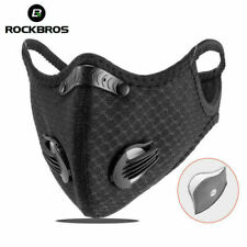 RockBros Outdoor Bike Cycling Windproof Sport Masked Anti-fog w /Filter Black