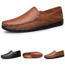 Mens Pumps Slip on Loafers Soft Comfy Breathable Work Driving Moccasins Shoes L