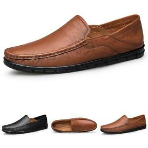 Mens Leisure Faux Leather Driving Moccasins Shoes Pumps Slip on Loafers Casual L