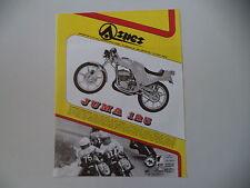 advertising Pubblicità 1980 MOTO ASPES YUMA JUMA 125