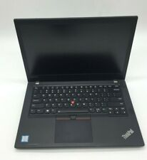 Lenovo Thinkpad T470 i5-7200U 2.50GHz 8GB 256GB SSD Win10 laptop and charger
